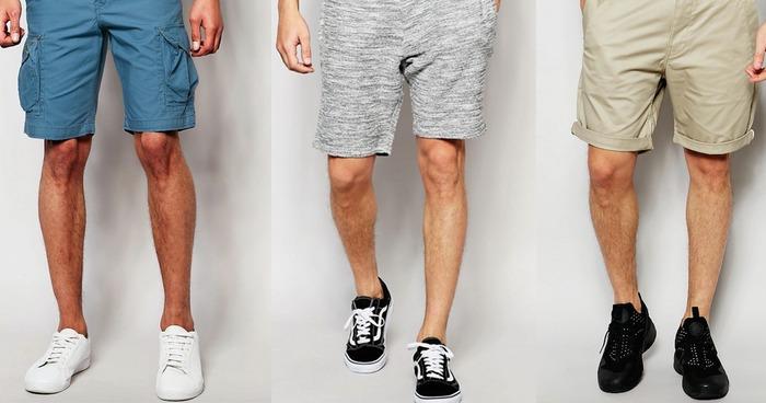 男性がショートパンツを履くなら、「ある程度毛を残して処理しているかわからない適度に処理する」が正解!?